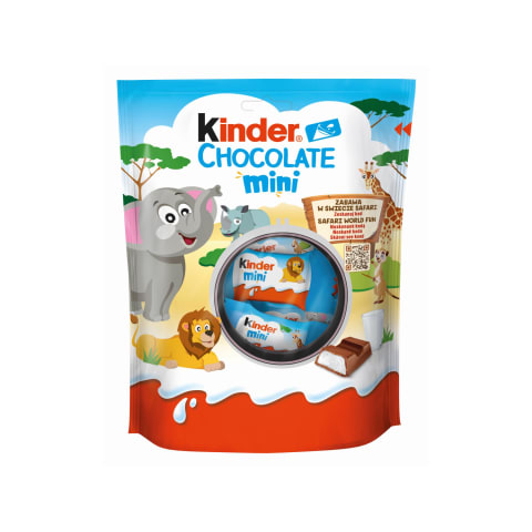 Piena šok. Kinder Chocolate mini bērniem 120g