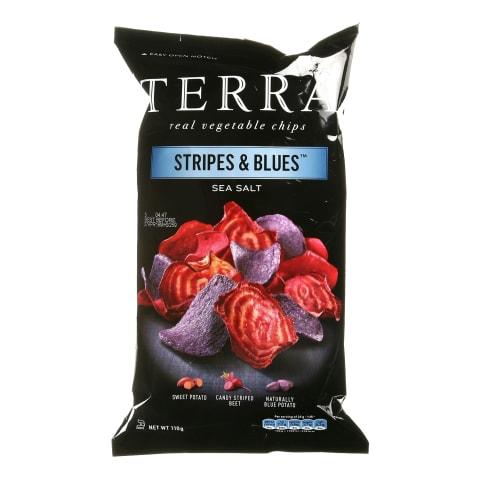 Köögiviljakrõpsud Terra Stripes & Blues 110g