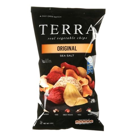 Köögiviljakrõpsud Terra Original 110g