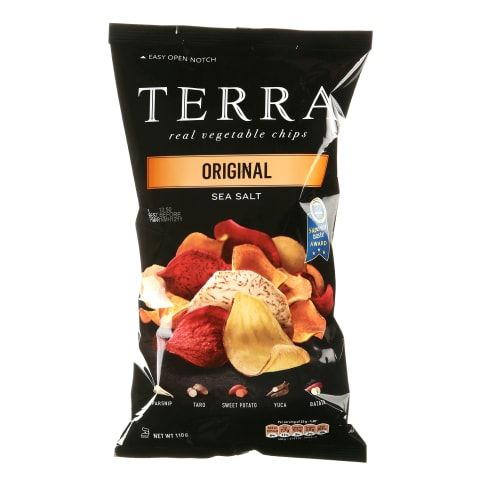 Čipsi dārzeņu Terra Oriģinālie 110g