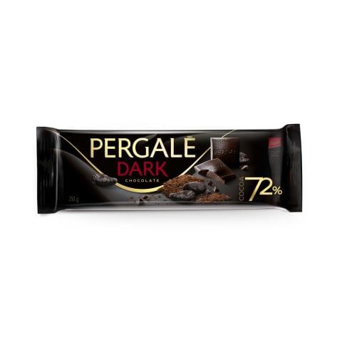Tumšā šokolāde Pergale 72% 250g