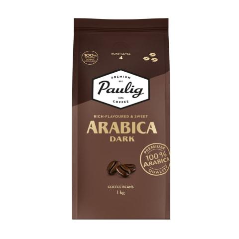 Kafijas pupiņas Paulig Arabica Dark 1kg