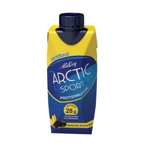 Proteiinijook banaani-šokolaadi Arctic 330ml