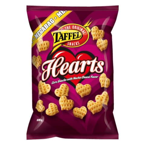 Maitsestatud maisisnäkid Hearts 235g