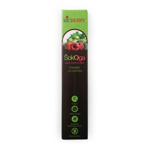 Ogas šokolādē Šokoga enerģijai asinsritei 48g