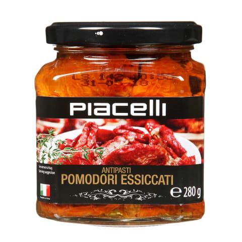 Kaltēti tomāti Piacelli eļļā 280g/148g