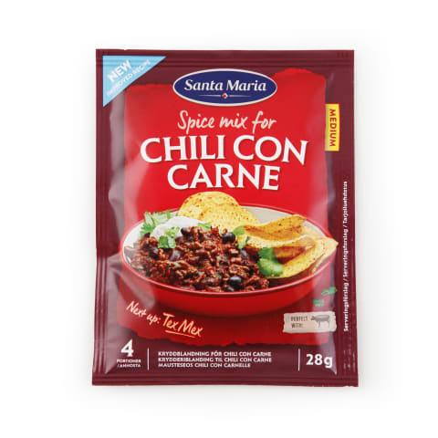 Garšv. mais. Santa Maria Chili Con Carne 28g