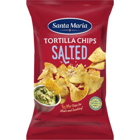 Tortiljakrõpsud kerge soolaga Santa Maria 185