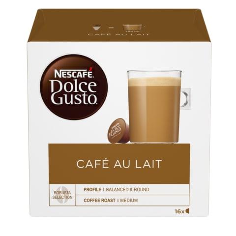 Kavos kapsulės DOLCE GUSTO CAFE AU LAIT, 160g