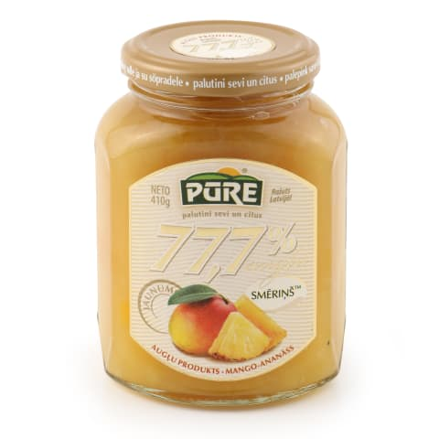 Augļu prod. Smēriņš mango ananasu 77,7% 410g