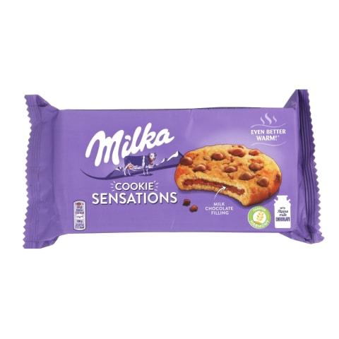 Cepumi Milka ar piena šokolādes gab. 156g