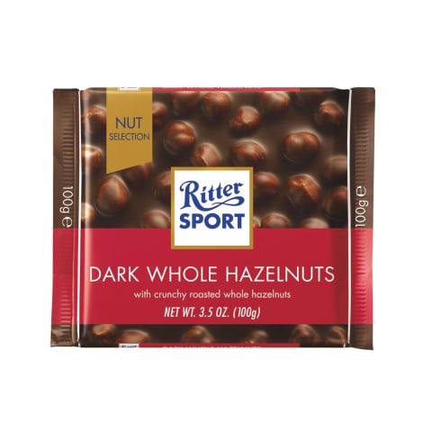 Tume šokolaad terv.pähklite Ritter Sport 100g