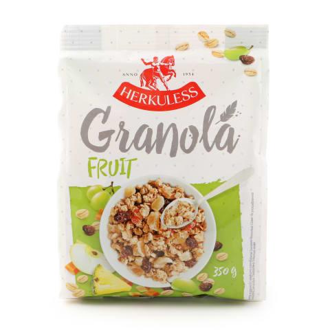 Granola su įvair. vaisiais HERKULESS, 350 g