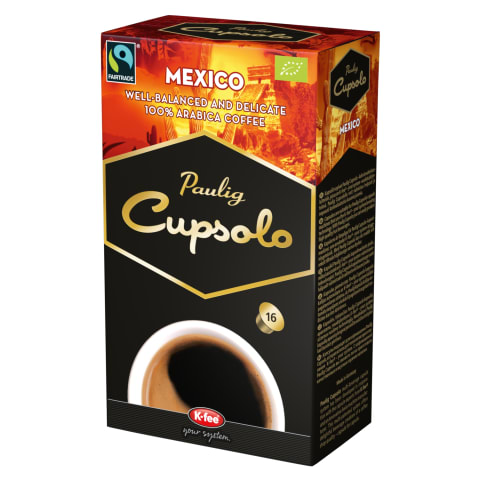 Kohvikapslid Mexico Paulig Cupsolo 16tk