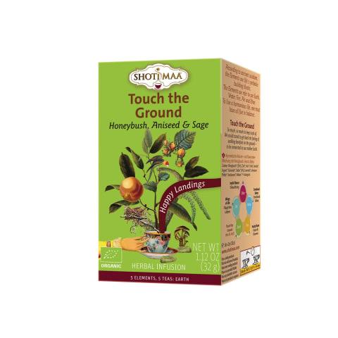 Ekologiška arbata TOUCH THE GROUND, 16 pak.