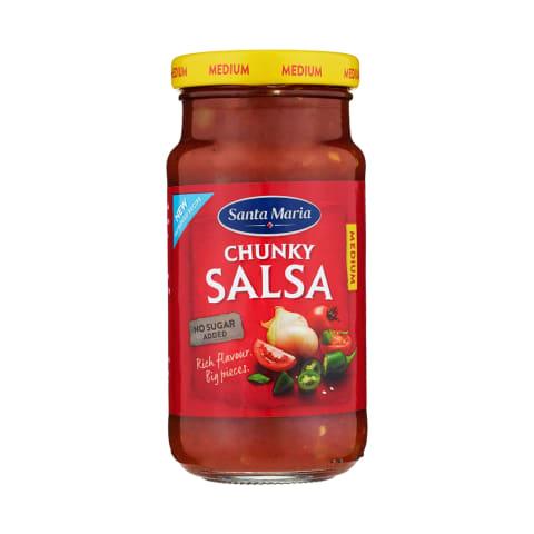 Chunky salsa Santa Maria 230g