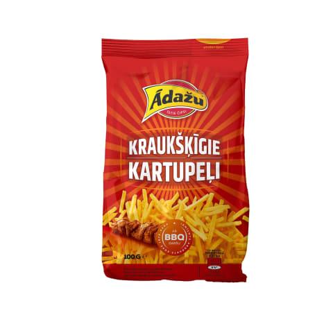 Čipsi Ādažu kraukšķīgie kartupeļi BBQ 100g
