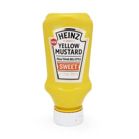 Sinepes Heinz saldās dzeltenās 240g
