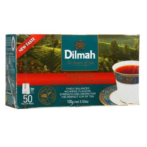 Juodoji arbata DILMAH PREMIUM, 50 pak.
