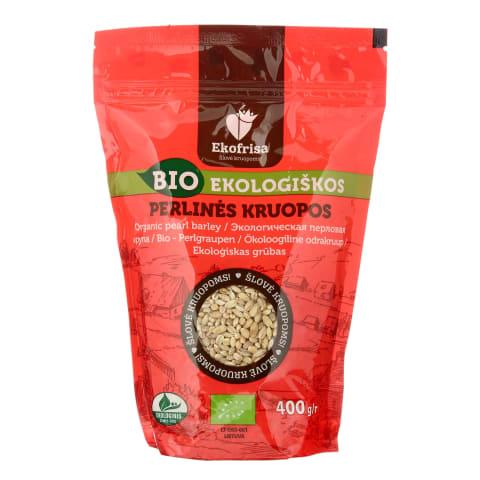 Ekologiškos perlinės kruopos EKOFRISA, 400 g