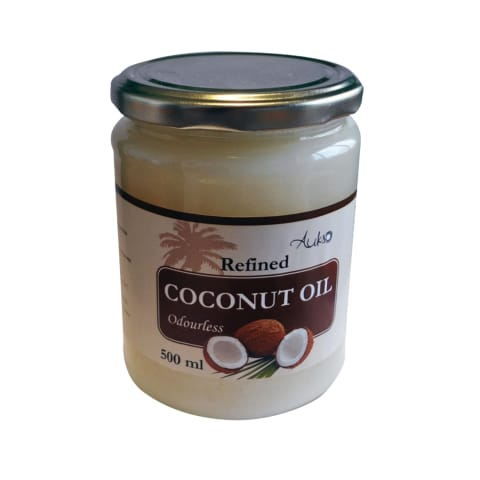 Rafin. bekvapis kokosų aliejus AUKSO, 500 ml