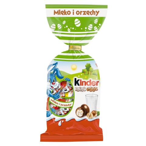 KINDER šokoladukų rinkinys MINI EGG, 100g