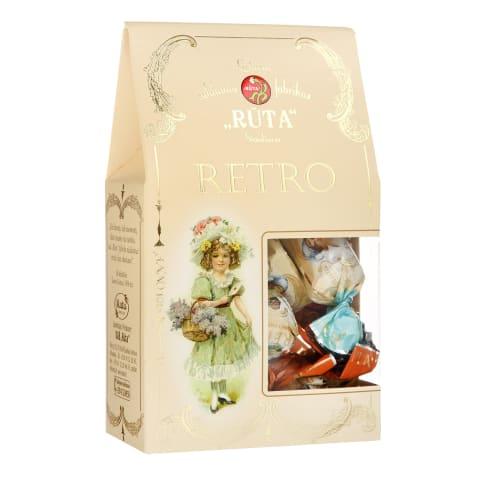 Šokoladinių saldainių rinkinys RETRO, 150 g