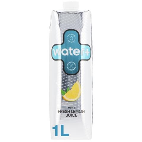 Dz. ūdens Water+ ar dabīgo citrona sulu 1l
