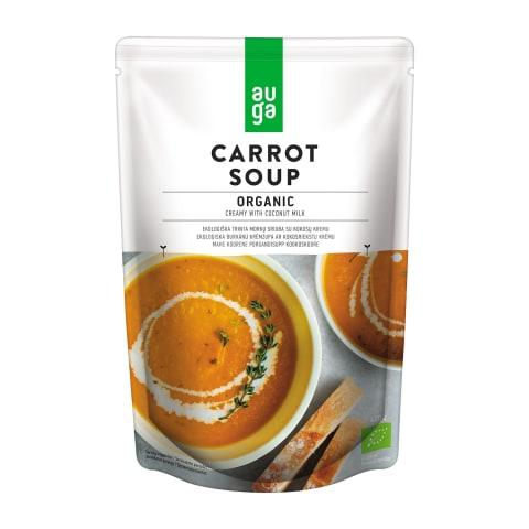 Morkų sriuba su kokosų pienu AUGA EKO, 400g