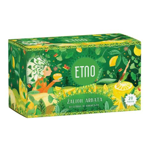 Žalioji arbata su citrin.ginkm., ETNO, 40g