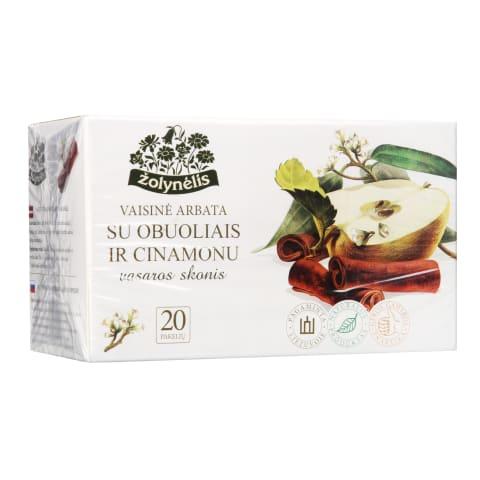 Vaisinė arbata su ob., cinam., ŽOLYNĖLIS, 50g