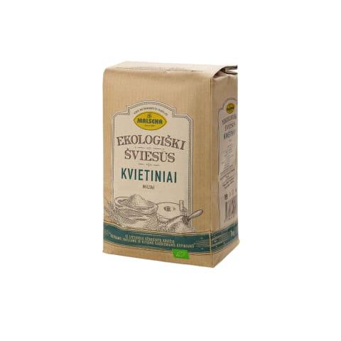 Ekologiški kviet. miltai MALSENA, 1 kg