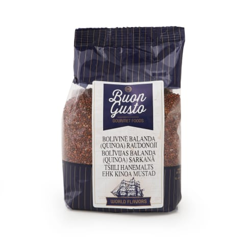 Kvinoja Buon Gusto Bolīvijas sarkana 350g