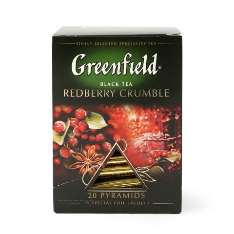 Melnā tēja Greenfield Redb.crumble 20x1,8g