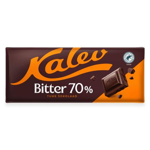 Tume šokolaad 70% Kalev Bitter 200g