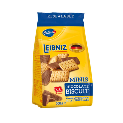Cepumi Leibniz minis šokolādes 100g