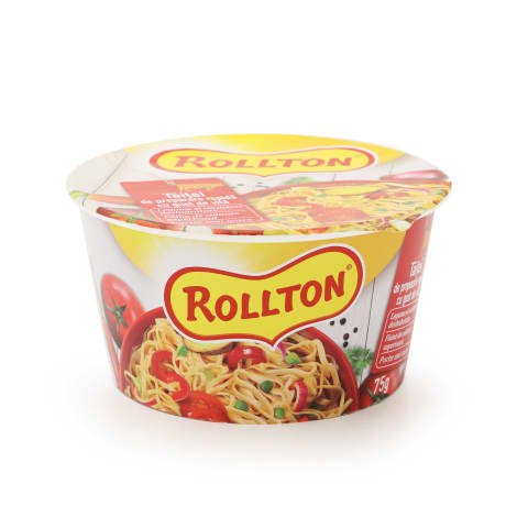 Nūdeles Rollton ar liellopu gaļas garšu 75g