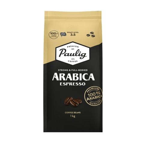 Kafijas pupiņas Paulig arabica espresso 1kg