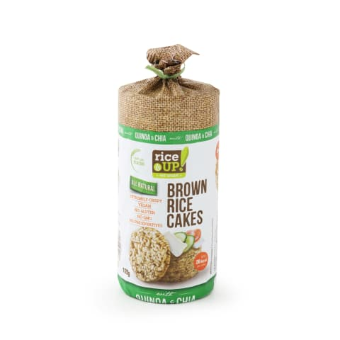 Galetes Rice Up čia, kvinoju sēklām 120g