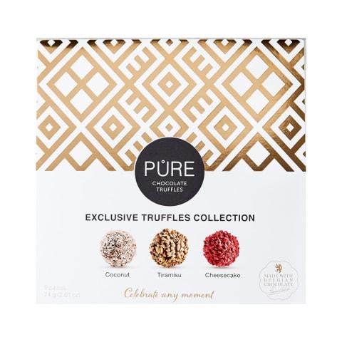 Šokolādes trifeļu Pure kolekcija 74g