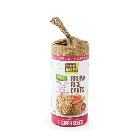 Galetes Rice Up ar 7 super sēklām 120g