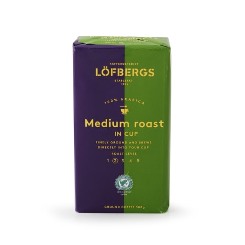 Malta kava LOFBERGS MEDIUM ROAST IN CUP, 50g
