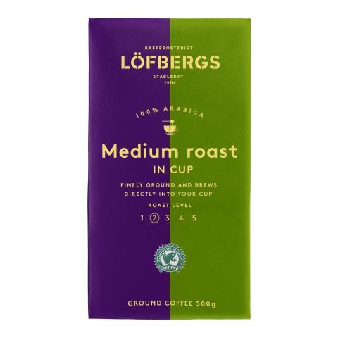 Malta kafija Lofbergs medium roast 500g