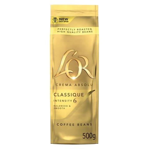 Kafijas pupiņas L'or classique 500g