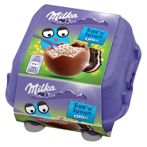Šokoladas MILKA su kakavinių saus.gab.,128g