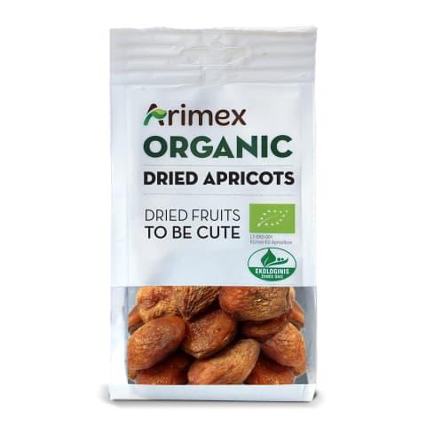 Ekologiški džiovinti abrikosai ARIMEX, 200g