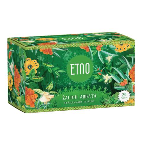 Žal. arbata su šaltalank.melisa ETNO, 40 g