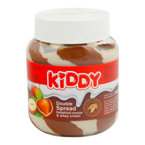 Šokolādes riekstu krēms Kiddy Duo 350gr