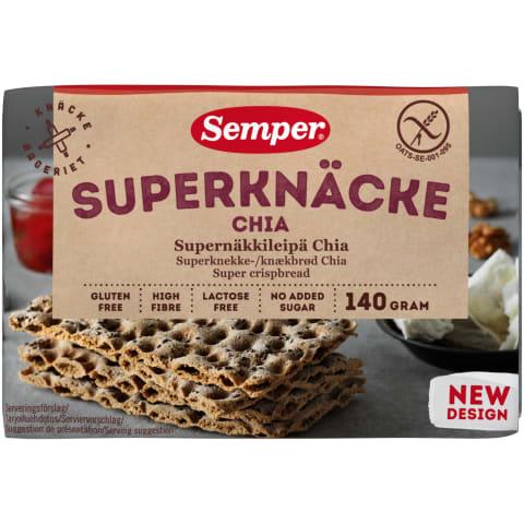 Näkileivad chiaga Semper gluteenivaba 140g