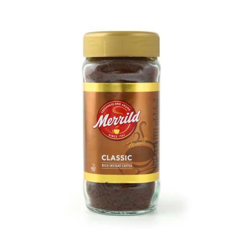Šķīstošā kafija Merrild classic 200g